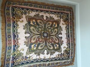 INDIO Tapete Samaranch Barcelona Embroidered Tapestry Wall Hanging Tablecloth