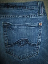 ANONAME Boot Cut Stretch Medium Blue Denim Jeans Womens Size 29 x 32.5