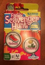 Family Scavenger Hunt Card Game 625012191739