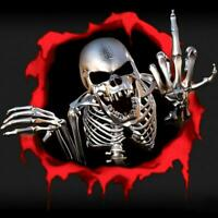 Skull Blood Cool Vinyl Car Decals Stickers Motorcycles Decoration