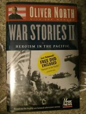 WAR STORIES HEROISM IN THE PAcific 2004 Oliver North SIGNED 1st Ed With DVD