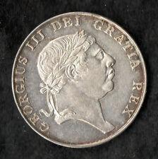 Ireland Bank Token 1813 Silver Ten Pence George III About Unc Choice Rare
