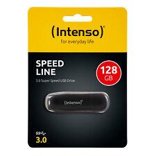 Intenso Usb Stick 128GB Speed Line Speicherstick Schwarz Micro 128 GB Mini Flash