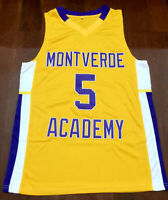 RJ BARRET Montverde Academy High School Men's Basketball Jersey Double STitched