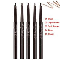 Waterproof Drawing Eye Brow Eyeliner Eyebrow Pen Pencil Brush Makeup Cosmetic -