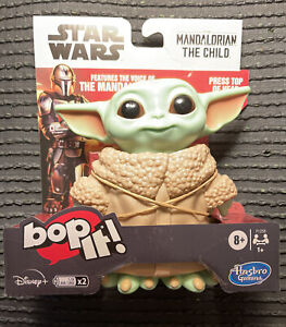 Bop It! Star Wars: The Mandalorian The Child Baby Yoda game toy Disney HASBRO