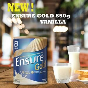 2 X Ensure Gold Complete Nutrition Milk Powder Vanilla Flavor 850g DHL EXP 02/21