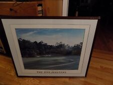 """Framed - 12th at Augusta golf print   MASTERS = 29"""" x 35"""""""
