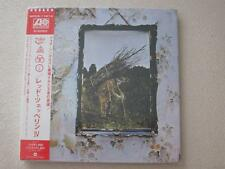 LED ZEPPELIN IV JAPAN MINI LP CD JIMMY PAGE ROBERT PLANT SEALED