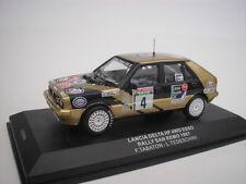 LANCIA DELTA HF 4WD #4 SAN REMO 1987 F. TABATON 1/43 IXO NEW