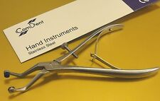 Dental Orthodontic Ortho Crown Removing Grip Pliers with Soft Grips CE New