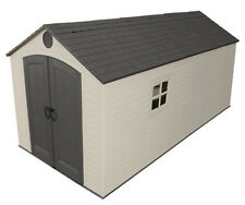 Lifetime Buildings 8x15 Outdoor Storage Shed Kit w/ 2 windows (model 60075)