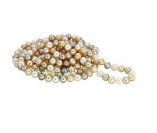 "FRESHWATER CULTURED PEARL MULTI COLOR 72"" NECKLACE"