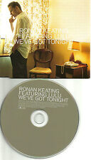 RONAN KEATING & LULU We've got tonight BOB SEGER Remake Cover UK PROMO CD single