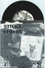 """Sticks and Stones """"Storm Coming"""" 7"""" OOP Weston Parasites Lifetime Bouncing Souls"""