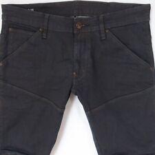 Mens G-Star 5620 3D SUPER SLIM Stretch Slim Blue Jeans W33 L30