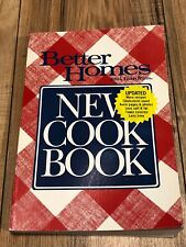"""Better Homes & Gardens """"New Cookbook"""" 1989 Paperback Second Trade Paper Edition"""