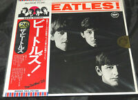 Beatles Meet The Beatles Sealed Vinyl Record Lp Japan 1976 Red Mono Obi Strip