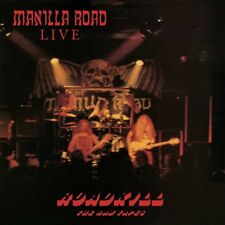 MANILLA ROAD - ROADKILL: THE RAW TAPES (OXBLOOD RED VINYL)   VINYL LP NEW!