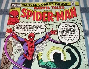 The AMAZING SPIDER-MAN #3 Reprint in Marvel Tales #140 from June 1982 in F/VF