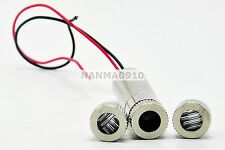 Focusable 5mw 650nm Red Laser Diode Module w/ M9x0.5 Dot Line Cross Lens & Caps