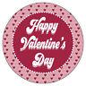 Personalizado Feliz San Valentín Pegatinas - Amor Pareja Regalo Bolsa Fiesta