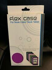 New Purple FLEX CASE FOR NOOK Color / Nook Tablet