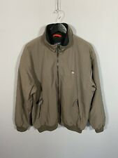 GANT NEWPORT Fleece Lined Bomber Jacket - Large - Brown - Great Condition - Mens