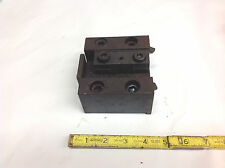 "A118-8411 Facing Block 1"" Square with Wedge Included for Okuma CNC Turret Lathe"