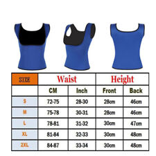 Men's Neoprene Slimming Vest Cami Hot Shapers Gym Women Sauna Sweat Thermal Belt