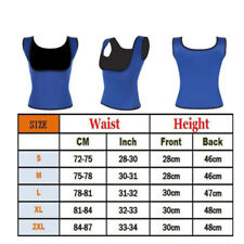 f98a47eb5f561 Men Neoprene Vest Cami Hot Shaper Gym Women Sauna Sweat Thermal Tank Top  Girdles