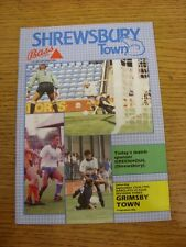 22/09/1990 Shrewsbury Town v Grimsby Town  . Thanks for taking the time to view