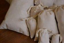 6x10 Cotton Muslin Bag. Double Drawstring. Bath Soap Herbs. Quantity: 100