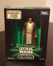Star Wars Kenner Mace Windu 1998 demostración en Caja