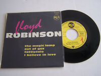 EP 4 TITRES VINYLE 45 T ,  FLOYD ROBINSON , THE MAGIC LAMP. VG + / EX . RARE .