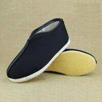 Handmade Winter Buddhist Monk Taoist Tai chi Kung fu Shoes Wushu Wing Chun Boots