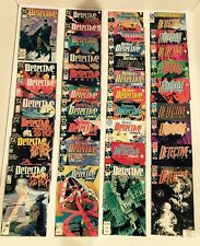 DETECTIVE COMICS/BATMAN #600-700 FULL RUN-1ST APP ANARKY/SPOILER-DEADSHOT 1989
