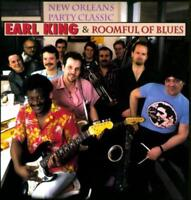 EARL KING/ROOMFUL OF BLUES - NEW ORLEANS PARTY CLASSICS NEW CD