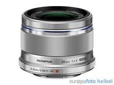 Olympus M.Zuiko 25mm F1,8 silber MFT die Must-have Festbrennweite