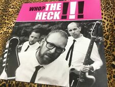The Heck - Who? - Vinyl + Poster NEW
