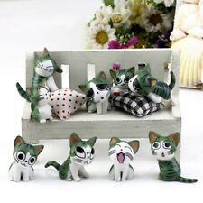 Miniature Cats Garden Ornament Figurine Fairy Dollhouse Micro Landscape Decor
