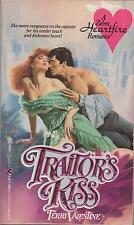 Traitor's Kiss Terri Valentine Zebra Heartfire historical romance good condition