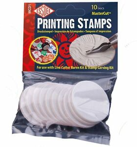 Essdee Self-Adhesive MasterCut Printing Stamps For use with Lino Cutter and kit