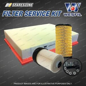 Oil Air Fuel Filter Service Kit for Nissan Navara NP300 2.3L 04/2015-On
