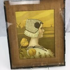 "Antique Paul Berthon, C1901 ""Queen Wilhelmina"" Art Nouveau Lithograph Print"