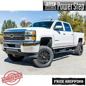 AMP PowerStep® Step Boards Plug&Play 2015-2020 Silverado 2500 3500 Gas EC CC