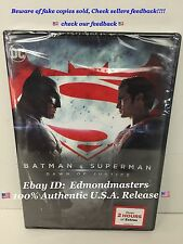 Batman v Superman: Dawn of Justice 2-Disc DVD, 2016 Brand New (BEWARE OF FAKES!)