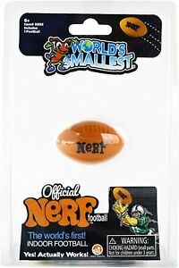 Worlds Smallest Official Nerf Football