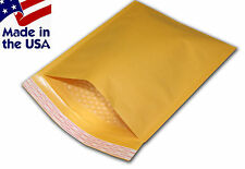"250 #00 5x10 Kraft Bubble Mailers Padded Envelopes Bags 5""x10"""