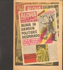 ALOHA 1974 16 New York Dolls SITTARD James Bond FRED FALLO Uriah Heep ROXY MUSIC